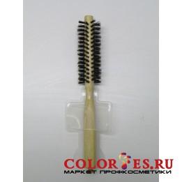 Брашинг деревянный, натуральная щетина с хвостиком, d13 мм WB-868-08, (868088)