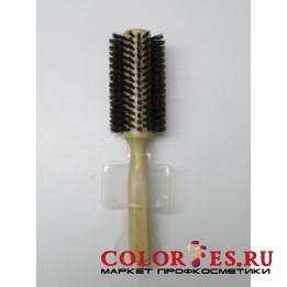 Брашинг деревянный, натуральная щетина с хвостиком, d28 мм WB-868-18, 868187