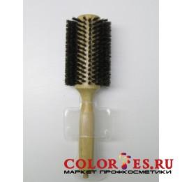 Брашинг деревянный, натуральная щетина с хвостиком, d37 мм WB-868-22, (868224)