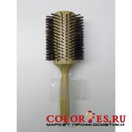 Брашинг деревянный, натуральная щетина с хвостиком, d50 мм WB-868-30, (868309)