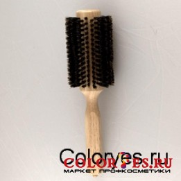 Брашинг деревянный, натуральная щетина с хвостиком, d33 мм WB-868-20, (868200)