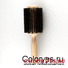 Брашинг деревянный, натуральная щетина с хвостиком, d45 мм WB-868-26, (868262)
