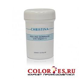 Пилинг CHRISTINA гоммаж с витамином Е Peeling Gommage with Vitamin Е 250 мл P-2