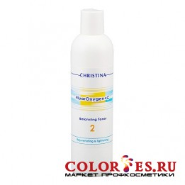Тоник CHRISTINA балансирующий (шаг 2) FluorOxygen +C Balancing Toner 300 мл FLU2/CHR358