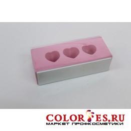 Блок OPI полировочный двусторонний с отверстиями, розовый (К.) (992622)