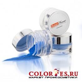 Пудра MOZART HOUSE акриловая цветная голубое море 7гр Color Acrylics Deep Sea Blue 2862 02412