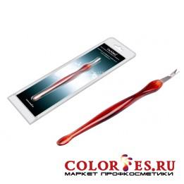 Инструмент  RU NAIL для обработки кутикул пластиковая ручка 0149
