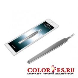 Инструмент  RU NAIL для обработки кутикул стальная ручка ручка 0150