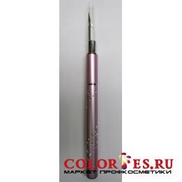 Ручка-перо со сменными насадками (дотс) для дизайна ногтей (К.) 062607