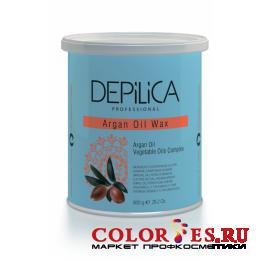 Воск DEPILICA теплый с маслом Арганы Argana Oil Warm Wax 800 гр DPL0099