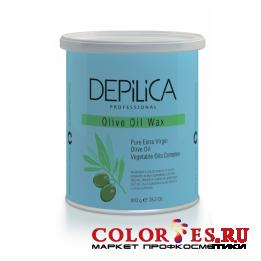 Воск DEPILICA теплый с маслом Оливы Olive Oil Warm Wax 800 гр DPL0068