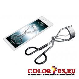 Зажим RU NAIL для ресниц прорезиненная ручка 0602