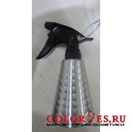 """Распылитель """"Конус гладкий"""" для воды, 300 мл, металлический, серебро (К.) (032341)"""