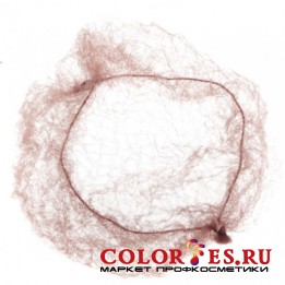 Сеточка-паутинка DEWAL большая коричневая (2 шт.) CE101