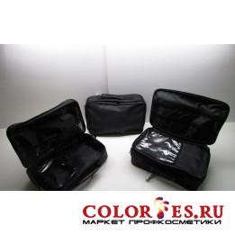 Сумка для мастера (33*22*10 см), полимерный материал, черный (К) (031733)