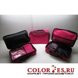 Сумка для мастера (33*22*10 см), полимерный материал, розовый (К) (031719)