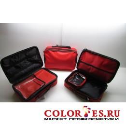 Сумка для мастера (33*22*10 см), полимерный материал, красный (К) (031726)