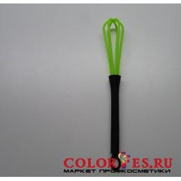 Венчик для смешивания краски, пластиковый, салатовый (К.) (032358)