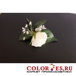 Бутоньерка из искусственных цветов (К.) (024919)