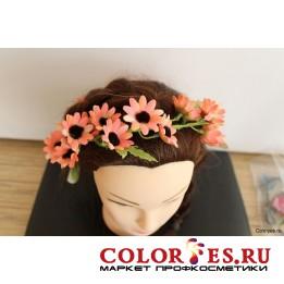 """Венок для волос """"Цветочная поляна"""" (К.) (024858)"""
