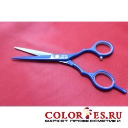 Ножницы JAGUAR парикмахерские прямые 5,5 (цветное покрытие) 5355 BLU(К.) (049929)