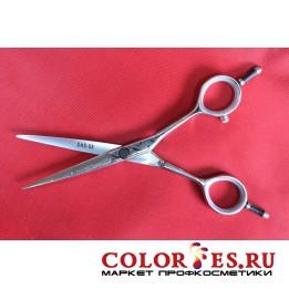 Ножницы PRO FEEL парикмахерские прямые 5,5 (хром.полир. ручки) DAS-55 (К.) (052585)