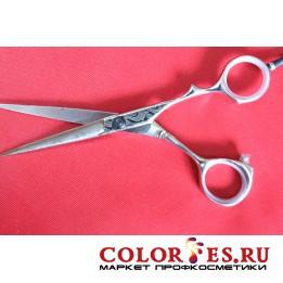Ножницы PRO FEEL парикмахерские 5,5 (хром.полир. эргон.ручки) DWS-55 (К.) (052578)