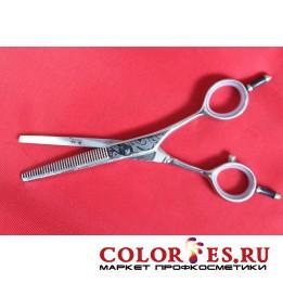 Ножницы PRO FEEL филировочные, 35 зубцов (хром.полир. прямые ручки) DAS-535 (К.) (052592)