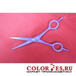 """Ножницы JAGUAR парикмахерские прямые 5,5 (цветное покрытие, узор """"Листья"""") SHI55SL (К.) 050154"""